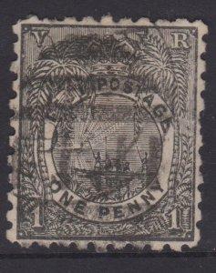 Fiji Sc#54 Used Perf 10