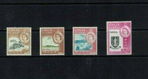 British Virgin Is: 1964, Queen Elizabeth II definitive, 70c - $2.40, MLH