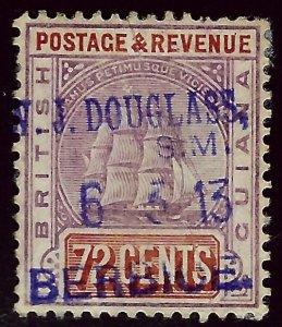 British Guiana SC#169 Used F-VF SCV$90.00  ..Fill a key Spot!!