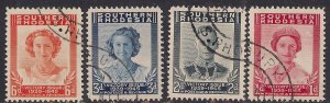 Southern Rhodesia 1947 KGV1 Set Victory Used SG 64 - 67  ( L1309 )