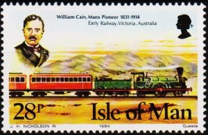 Isle of Man. 1984 28p S.G.276 Unmounted Mint