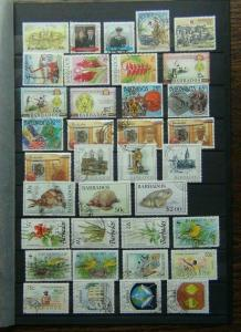 Barbados 1985 1990 Range of Commemorative issues with high values set Used