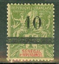 B: Senegal 56 mint CV $80