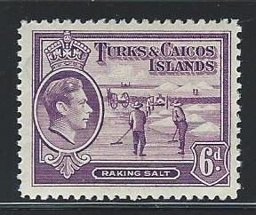 Caicos Islands   mnh S.C. 85