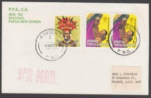 PAPUA NEW GUINEA 1979 cover ex KAVIENG......................................N182