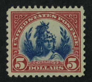 MOMEN: US STAMPS #573 MINT OG H XF-SUP LOT #49317
