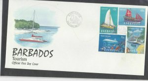Barbados Stamps Cover 1998 Ref: R7651