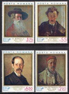 Romania 2348-2351 Paintings MNH VF