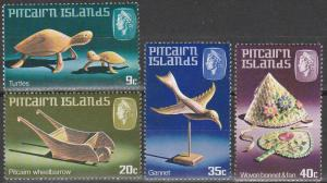 Pitcairn Is #194-7    MNH   (S9541L)