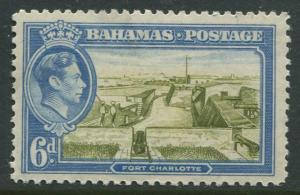 STAMP STATION PERTH Bahamas #107 KVI Definitive 1938 MLH CV$0.65