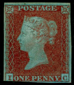 SG8, 1d red-brown, M MINT. £600. IC