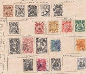 BOLIVIA  ^^^^^^1867 -1913   mint & used  CLASSICSon page   $$@dcc700bol