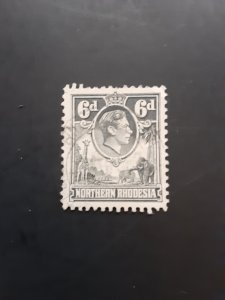 *Northern Rhodesia #38                  Used