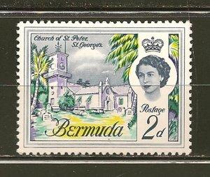 Bermuda 176 Church of Saint Peter Mint Hinged
