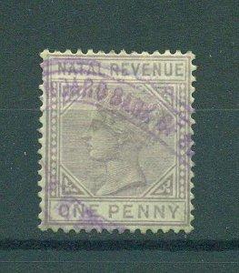 Natal sc# revenue stamp used net $4.00