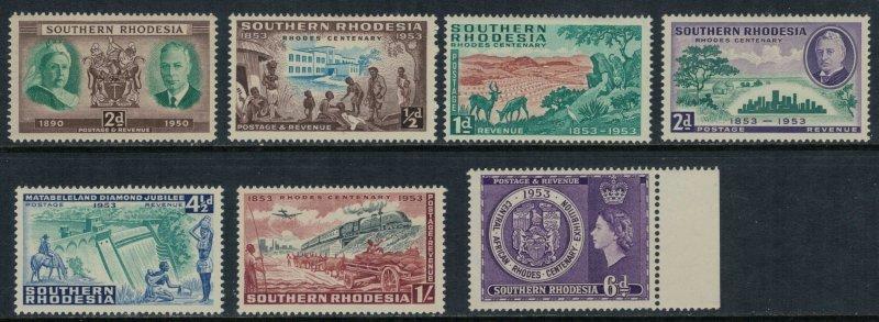 Southern Rhodesia #73-9*  CV $6.85