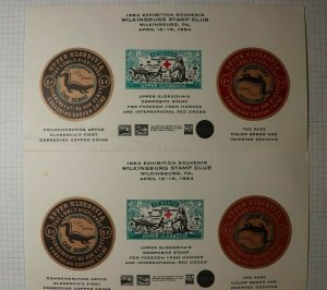 Wilkinsburg PA Stamp Club 1964 Upper Slobbovia Exhibition Philatelic Souvenir Ad