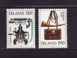 Iceland 515-516 Set MNH Europa