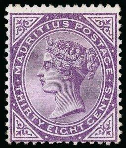 Mauritius Scott 65 Gibbons 98 Mint Stamp