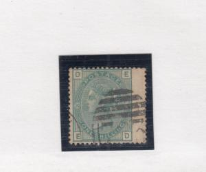 GB # 64 PLATE 10 1sh PALE GREEN WITH WING MARGIN COPY CAT VALUE $160