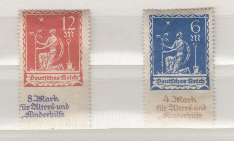 Germany 1922 Planting Charity 6m/12m MH X9999