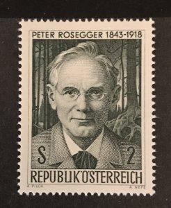 Austria 1968 #814, MNH, CV $.25