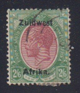 Southwest Africa - 1923 - SC 24b - Used