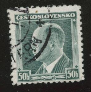 CZECHOSLOVAKIA Scott 227 Used 1937