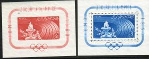 Romania Scott 1337-1338 MNH! 1960 Olympics!