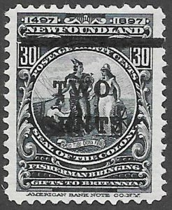 Newfoundland Scott Number 127 VF H Cat C$8