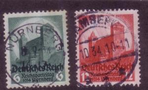 Third Reich Sc. # 442 / 443 Used