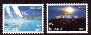 ICELAND 768-9 MNH SCV $2.65 BIN $1.05 PLACES