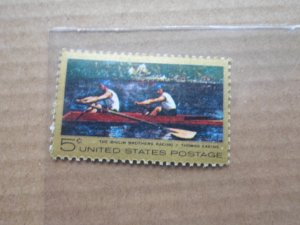5 CENT STAMP BOAT RACING MNH SC# 1335