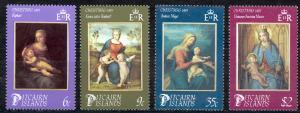 Pitcairn Islands Sc# 262-265 MNH 1985 Christmas
