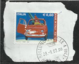 ITALIA REPUBBLICA ITALY REPUBLIC 2007 MADE IN ITALY FIAT NUOVA 500 USATO USED...