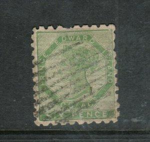 Prince Edward Island #3 Very Fine Used Perf 9