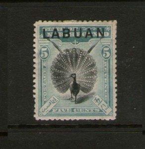 Malaya S. Setts. Labuan 1899 Sc 77 MH
