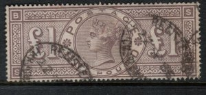 Great Britain #110 Very Fine Used Well Centered Watermark Imperial Crown