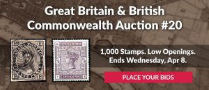 The 20th Great Britain & Commonwealth Auction