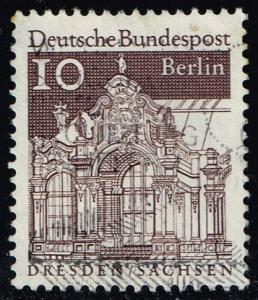 Germany #9N237 Wall Pavilion; Used (0.25)