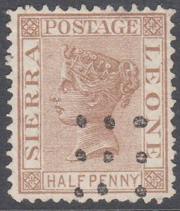 SIERRA LEONE  An old forgery of a classic stamp.............................C790