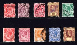 UK STAMP Straits Settlements OLD USED STAMPS COLLECTION LOT #2