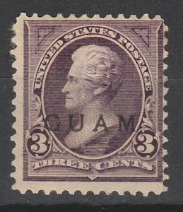 GUAM 1899 JEFFERSON 3C