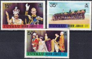 Tuvalu #43-5   MNH CV $5.35  (Z7098)