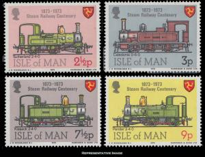 Isle of Man Scott 29-32 Mint never hinged.