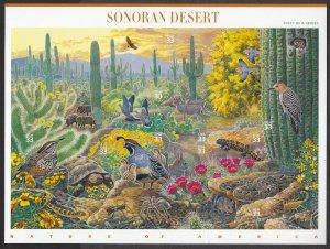 U.S.#3293 SONORAN DESERT MINT, VF, NH   FULL SHEET @ FACE VALUE!