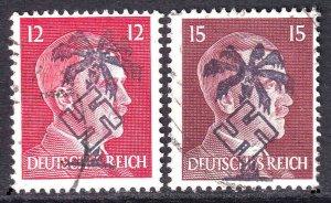 GERMANY 513-514 AFRIKAKORP OVERPRINTS CDS F/VF SOUND