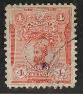 Peru  Scott 179  Used stamp