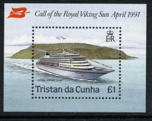 Tristan Da Cunha 495 MNH Ship, Royal Viking Sun