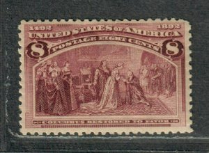 US Sc#236 M/NH/F-VF, Cv. $140